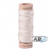 Aurifloss - 6-strand cotton floss - 2309 (Silver White)